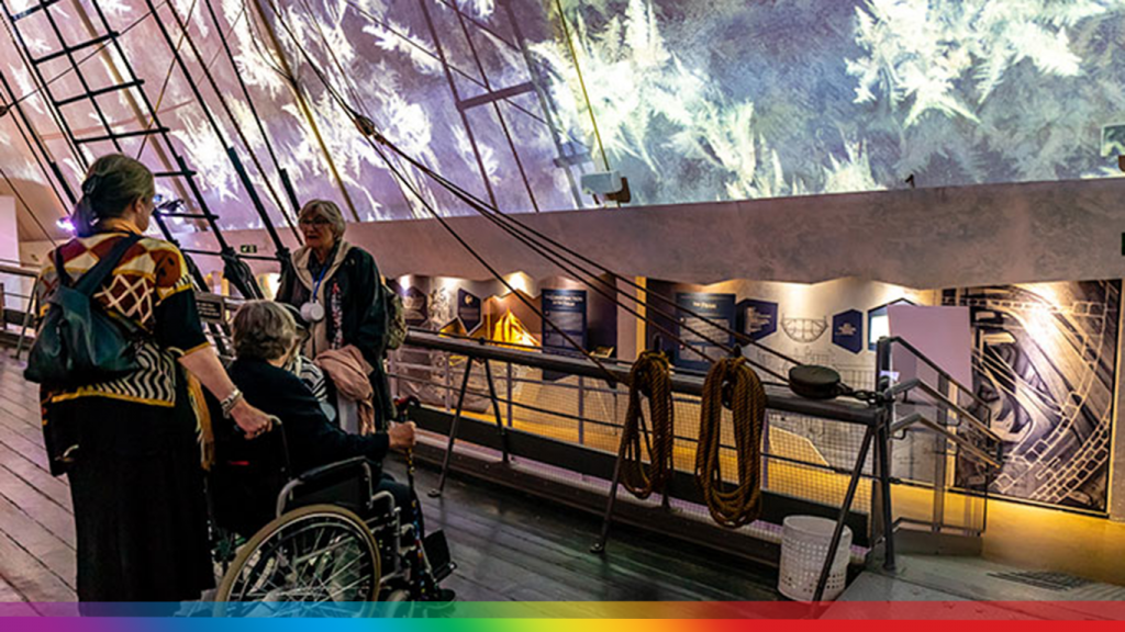 Digital Projection en eDigital Projection en el Museo Fram de Oslol Museo Fram de Oslo (Noruega)