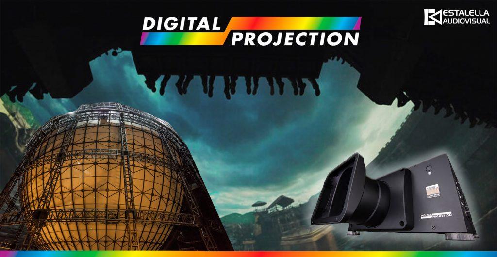 Digital Projection elegido para crear simulación en Hengdian World Studios